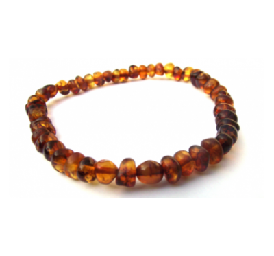 Baltic Amber Anklet