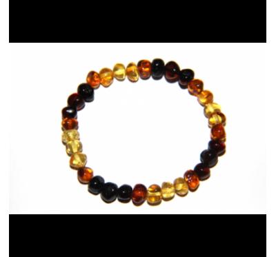 Baltic Amber Bracelet Rainbow