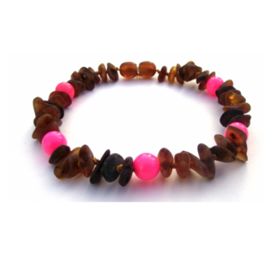 Amber Collar Pink Sweetie