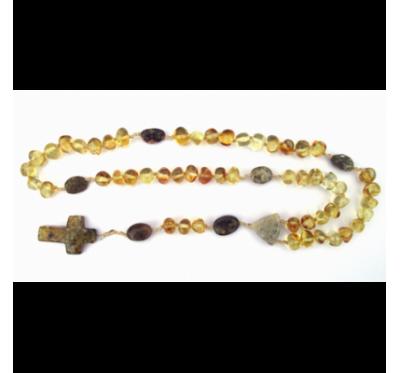 Amber Rosary MIX4