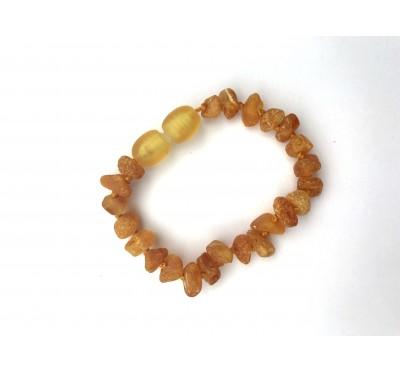 Raw amber bracelet / anklet