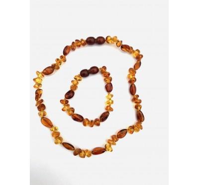 Necklace & Bracelet/Anklet Set