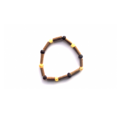 Hazelwood & Amber Bracelet for Men