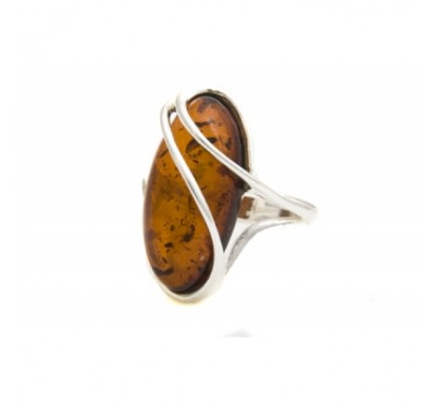 Baltic Amber Ring R3006
