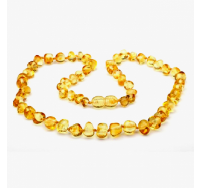 Amber Necklace BTN Honey